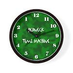 Redneck Time Machine Clock Wall Clock