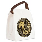 Celtic Unicorn Canvas Lunch Bag