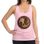Celtic Unicorn Racerback Tank Top