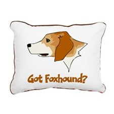 Got Foxhound Rectangular Canvas Pillow