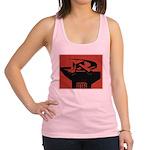 Stylish Hammer & Sickle Racerback Tank Top