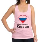 Happily Married Russian Racerback Tank Top