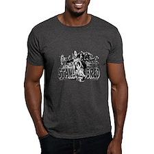 Standardbred Racing Black T-Shirt