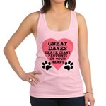 FIN-great-dane-giant-pawprints-heart.png Racerback
