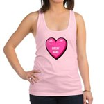 great-dane-FIN.tif Racerback Tank Top