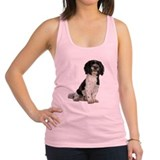FIN-havanese-photo.png Racerback Tank Top
