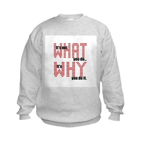 What Why Kids Sweatshirt