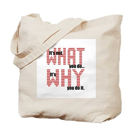 What Why Tote Bag