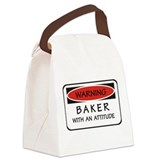 Attitude Baker Canvas Lunch Bag