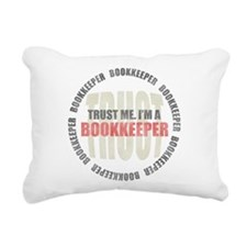 Trust Bookkeeper Rectangular Canvas Pillow