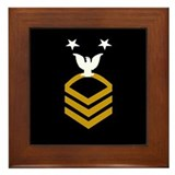 Master Chief Petty Officer&lt;BR&gt; Framed Tile 1