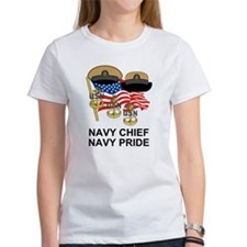 Navy Chief Anchors<BR> Tee 3