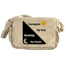 Lawyer by day Daddy by night Messenger Bag