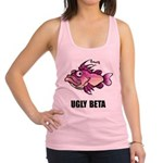 FIN-ugly-beta-fish.png Racerback Tank Top