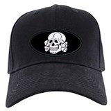 skull, death, 14 words Baseball Cap