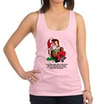 FIN-night-after-christmas.png Racerback Tank Top