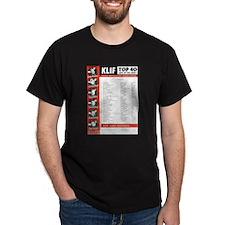 KLIF Playlist (1964) T-Shirt
