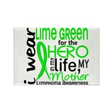 Hero in Life 2 Lymphoma Rectangle Magnet (100 pack