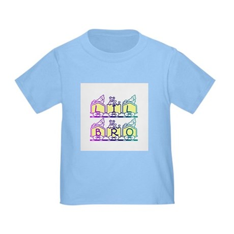Lil Bro Train Toddler T-Shirt