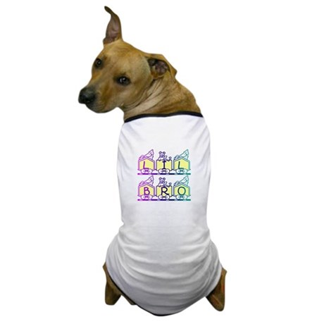 Lil Bro Train Dog T-Shirt
