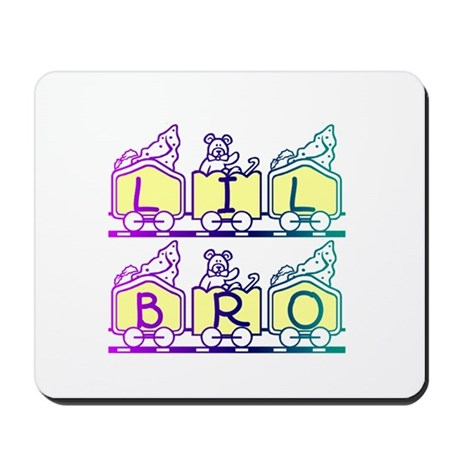 Lil Bro Train Mousepad