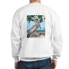 Brown Pelican Sweatshirt