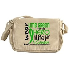 Hero in Life 2 Lymphoma Messenger Bag