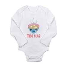 Funny Miso soup Long Sleeve Infant Bodysuit