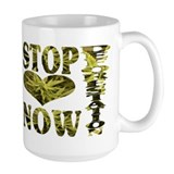 STOP DEFORESTATION NOW Mug