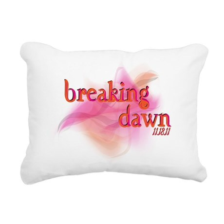 breaking dawn feathered.png Rectangular Canvas Pil