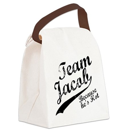 TeamJacob.png Canvas Lunch Bag
