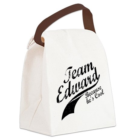 TeamEdward.png Canvas Lunch Bag