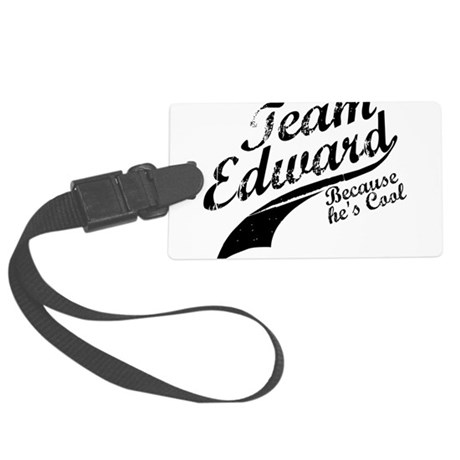 TeamEdward.png Large Luggage Tag