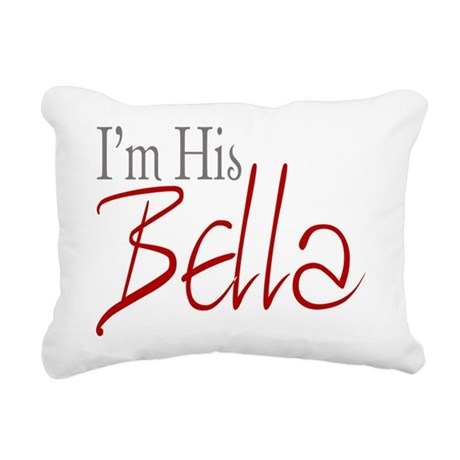 His Bella2.png Rectangular Canvas Pillow