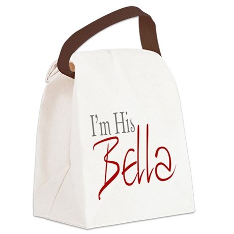 His Bella2.png Canvas Lunch Bag