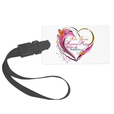eclipse-heartbreakingdawn.png Large Luggage Tag