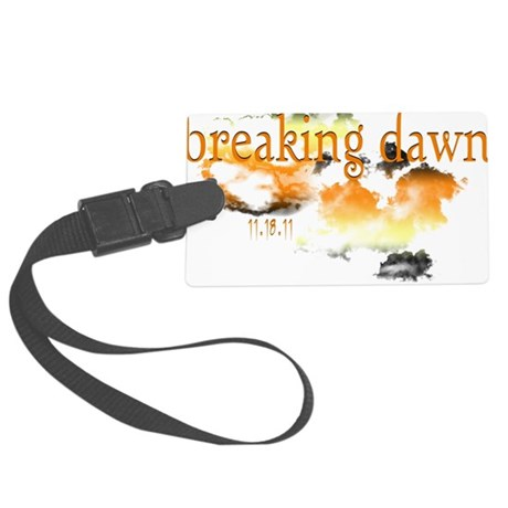 breaking dawn 11-18-11-2.png Large Luggage Tag