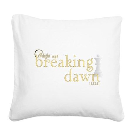 Breaking Dawn 2 Square Canvas Pillow