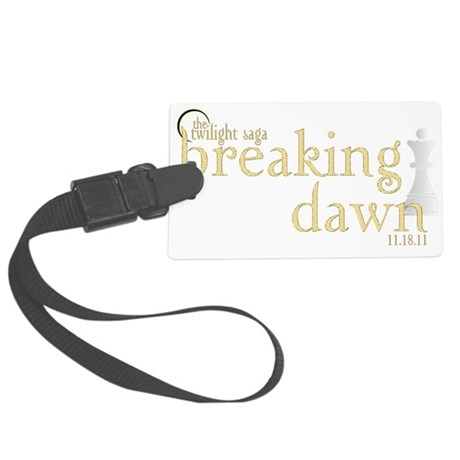 Breaking Dawn 2 Large Luggage Tag