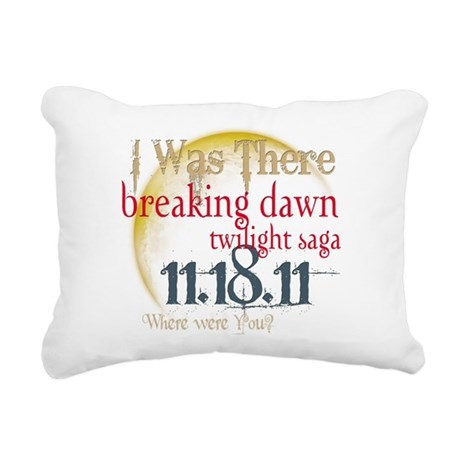 I was There.png Rectangular Canvas Pillow
