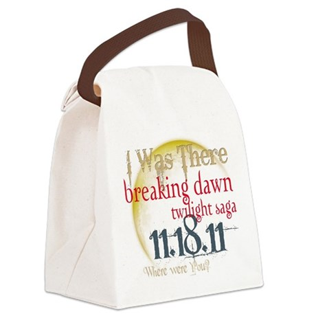 I was There.png Canvas Lunch Bag