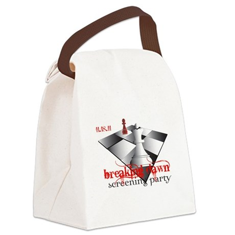 screeningparty 2b.png Canvas Lunch Bag