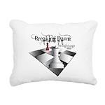 breaking dawn chess lt.png Rectangular Canvas Pill