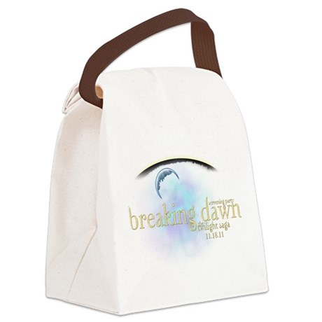 breaking dawn 11-18-11.png Canvas Lunch Bag