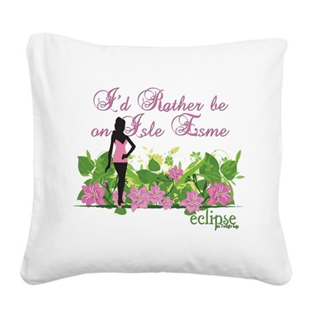 IsleEsme2.png Square Canvas Pillow