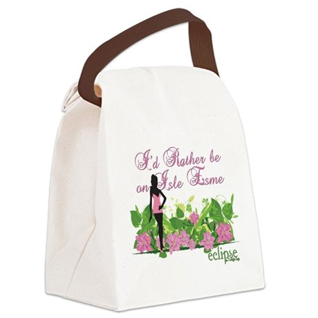 IsleEsme2.png Canvas Lunch Bag