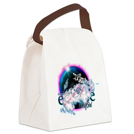 eclipseWolfGirl.png Canvas Lunch Bag