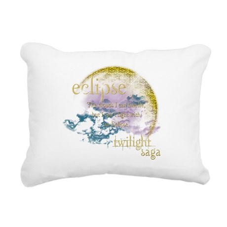 Eclipse Twilight.png Rectangular Canvas Pillow
