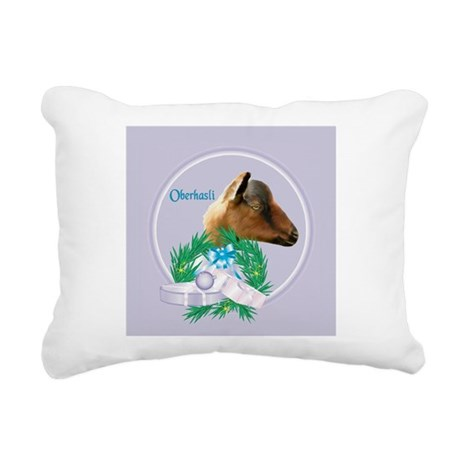 Goat-Nubian2.png Rectangular Canvas Pillow