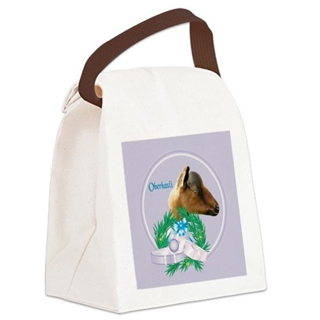 Goat-Nubian2.png Canvas Lunch Bag